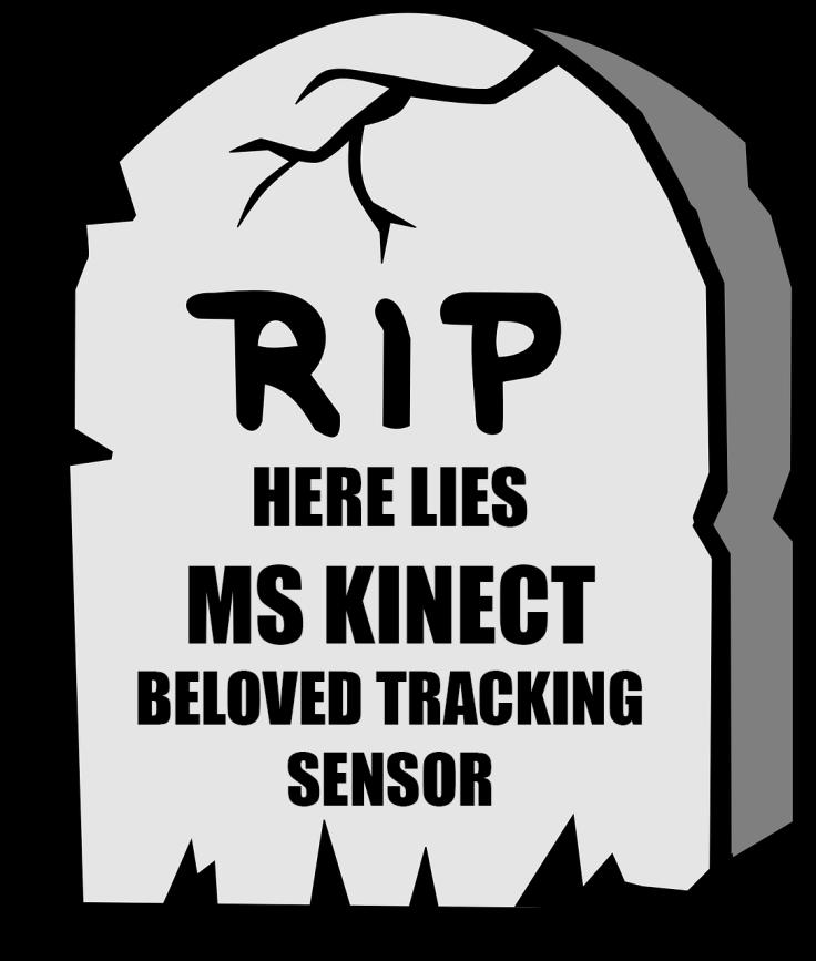 Microsoft Kinect tombstone
