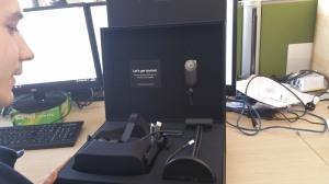 Oculus Rift CV1 box