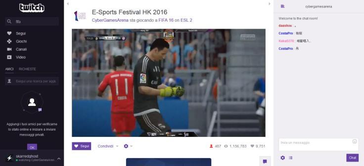 Twitch FIFA