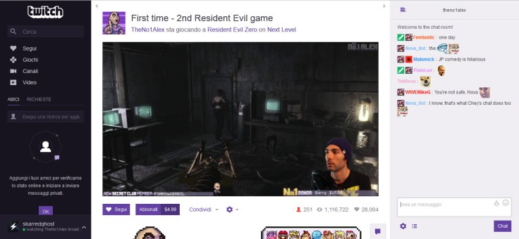 Twitch Resident Evil