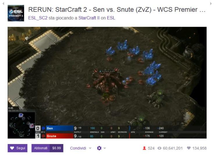 Twitch Starcraft