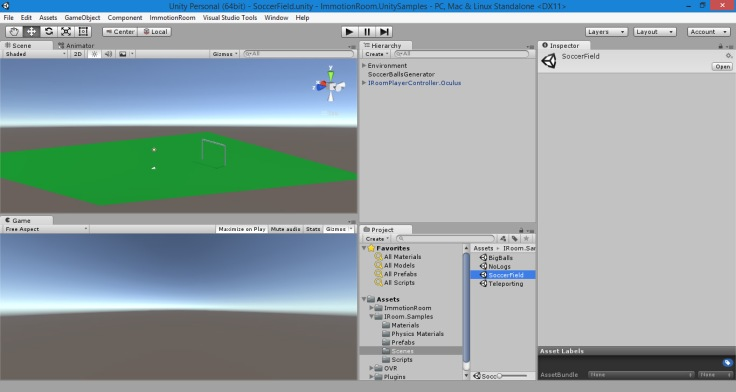 A screenshot of Unity 3D