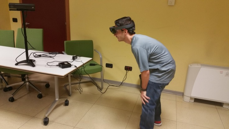 HoloLens kinect holograms augmented reality