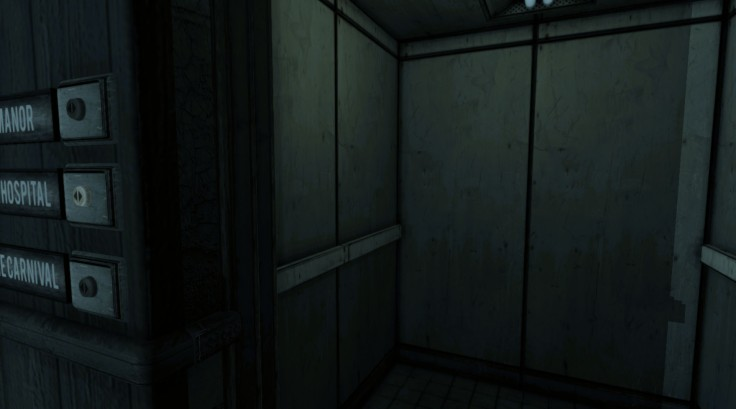 The affected horror VR elevator