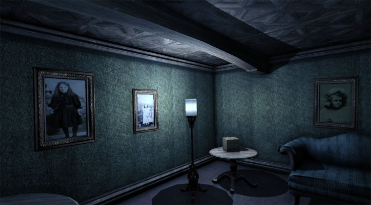 The affected horror VR game manor