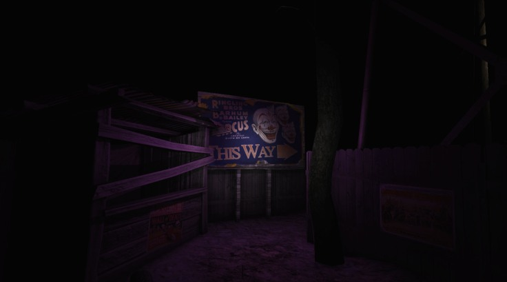 The affected horror VR game circus