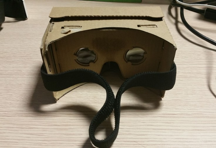 Cardboard viewer virtual reality