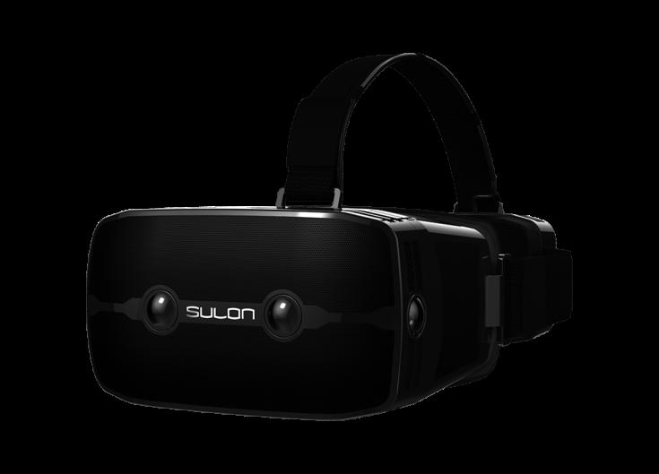 VR AMD Sulon Q headset