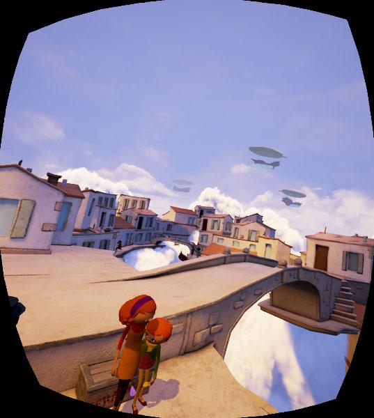 Allumette animation vr oculus rift