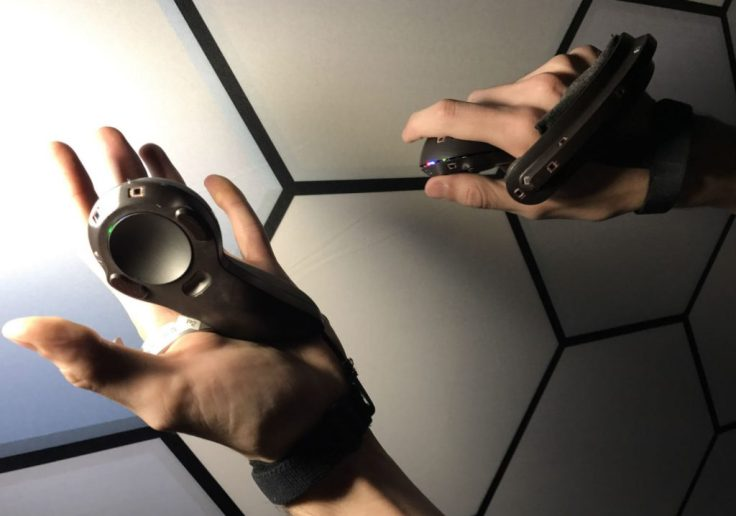 New steam vr controllers