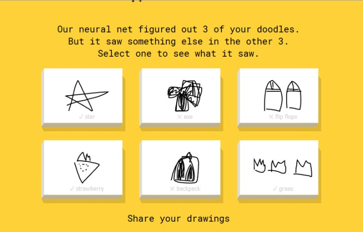 Google Quick draw artificial intelligence