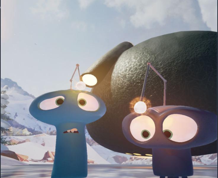 virtual reality animation