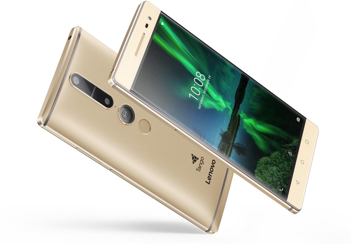 Lenovo Tango phone AR VR