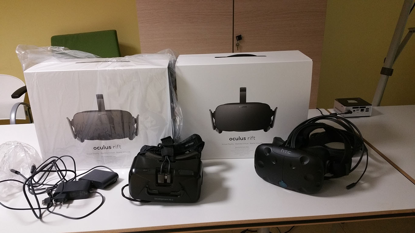 virtual reality oculus rift vs htc vive