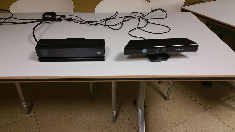 Kinect v1 Kinect v2