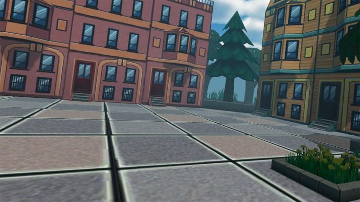 Street champ VR virtual reality game