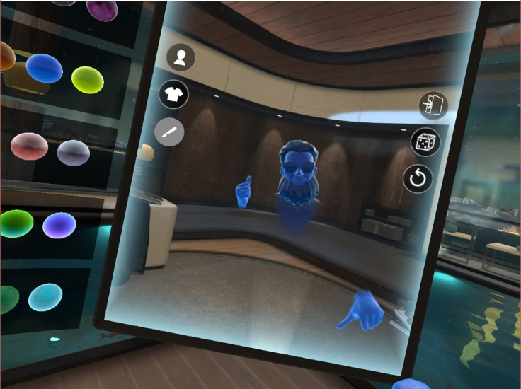 Avatar Oculus Touch