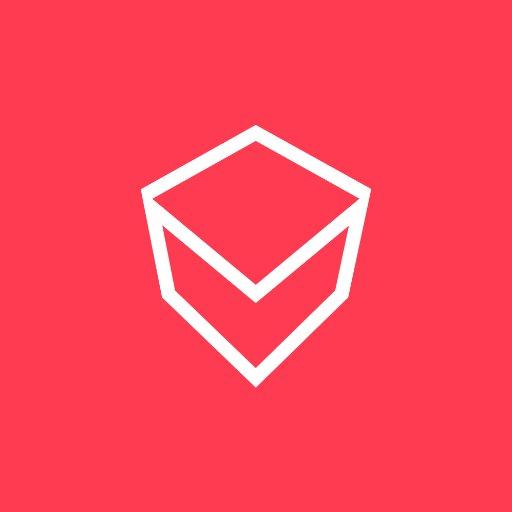 v virtual reality dashboard logo