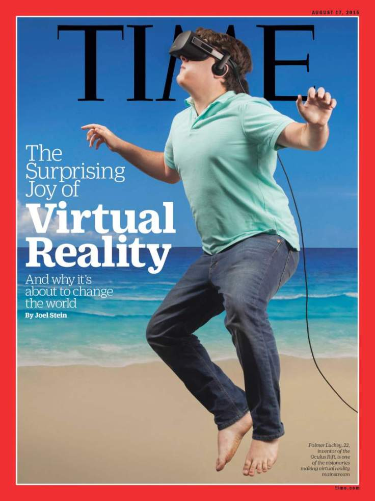 Palmer luckey virtual reality oculus